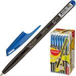Ручка шариковая Maped Green Dark трехгранный корпус синяя (толщина линии 0.6 мм)