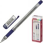 Ручка шариковая неавтоматическая масляная Attache Expert синяя (толщина линии 0.5 мм) 569015